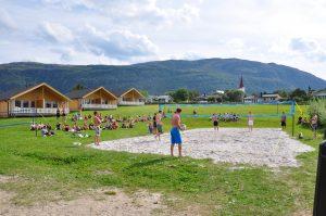 Camping langs Kystriksveien