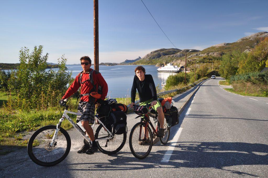 Kystriksveien med sykkel