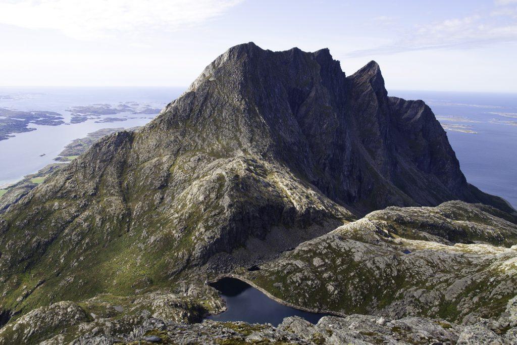 Mektige Dønnamannen: Foto: Inge Ove Tysnes