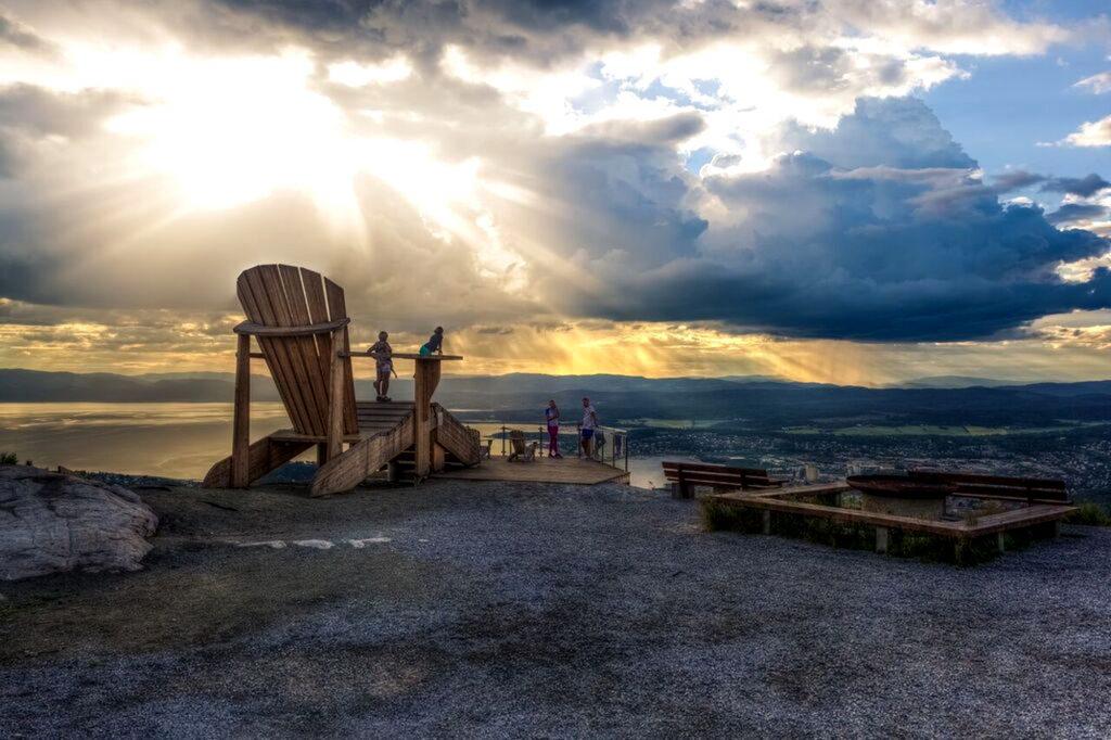 Stolen på Oftenåsen. Foto: Espen Andre Wåde