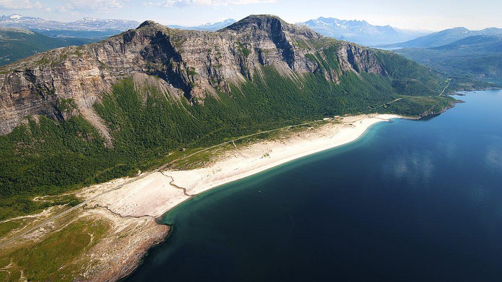 Sandviksanden. Foto: Sjøfossen Næringsutvikling