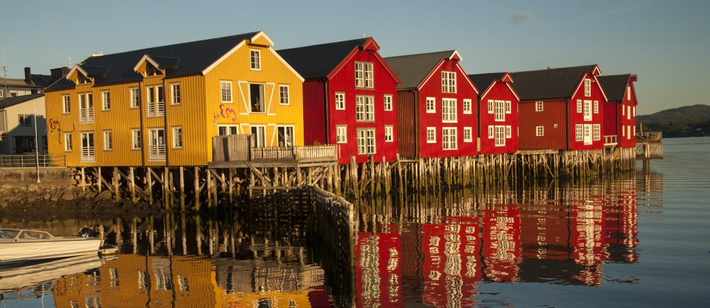 Namsos. Foto: Olav Breen